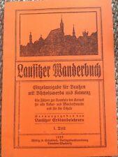Lausitzer Wanderbuch, Einzelausgabe für Bautzen, Bischofswerda u, Reprint 1922/2
