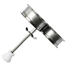 Stainless Steel Egg Poacher Poaching Poach Filter Cup Mould Great Quality