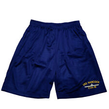 Uss Hancock Cva-19 Mens Athletic Jersey pocket Mesh Basketball Shorts M-5Xl
