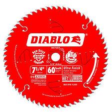 Freud Diablo D0760X 7-1/4-inch 60T Ultra Sharp Finish Saw Blade, 5/8-inch Arbor