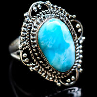 Larimar 925 Sterling Silver Ring Size 6.5 Ana Co Jewelry R2372F