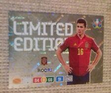 Panini EURO 2020 Rodri limited card