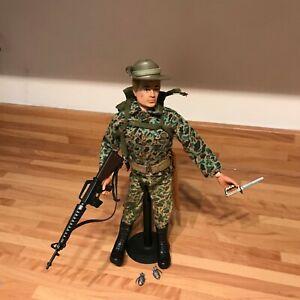 vintage action man kitbash jungle fighter
