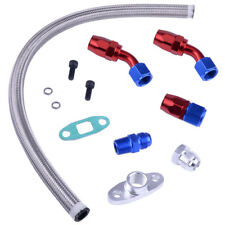 Oil Return Drain Line Kit For Turbo Charger T3 T4 T3/T4 T70 T66 TO4E