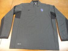 Gray Blak Nike Dri Fit 1/4 zip Pullover Jacket XL DC (B)