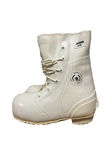 ACTON Bunny Boots Waterproof Extreme Cold Weather w Valve White Size 4R