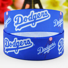 10yards 22mm Los angeles dodgers sport team ball printed Grosgrain Ribbon party
