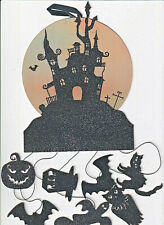 Papyrus Halloween Card Nip Msrp $9.95 Haunted House Mobile Card (C4)