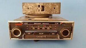 New replacement Cassette Door Becker Mexico Radio Mercedes 280sl Ferrari Porsche
