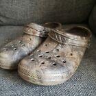 CROCS Dual Comfort Lined Crocband Clogs Realtree Camo Sandals Shoes Men's Sz 13