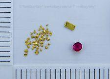 (AU) 150 certified australian gold nugget+1 gold bullion 999.9+1 ruby