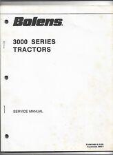 Original OE OEM May 1988 Bolens 3000 Series Tractor Service Manual # 3980-2