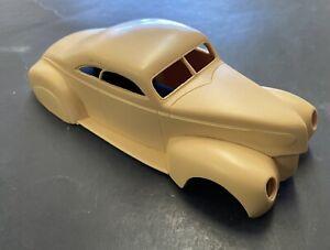 vintage Revell 40 Ford/W/39 MercCustom Resin Body model car kit