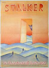 STALKER - TARKOVSKY / FOLON - RARE ORIGINAL FRENCH MOVIE POSTER