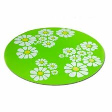 Flower Pet Dog Cat Water Fountain Mat Drink Dispenser Silicone No-Slip Placemat