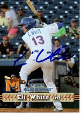 Eli White 2018 Midland RockHounds Signed Card