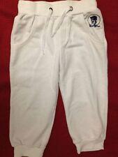 Frankie Garage - pantaloni bianchi tipo tuta - Taglia 8 anni - 100% cotone - USA