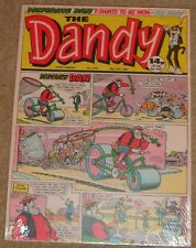"""Dandy Canvas Prints 13""""x18"""" Featuring Desperate Dan on a wood frame"""
