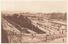 G0287 Autriche - Vienne - Quai et canal - Stampa d'epoca - 1923 Old print