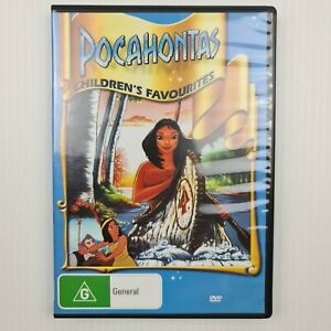 Pocahontas 1995 DVD - Region 4 - Burbank - FREE TRACKED POSTAGE