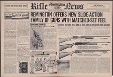 1957 REMINGTON 870 Wingmaster Shotgun 760 Gamemaster 572 Fieldmaster Rifle AD**