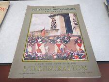 L ILLUSTRATION N° 4978 BIS JUILLET 1938 ALBUM HORS SERIE LES SOUVERAINS BRITANN*