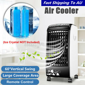 Black Portable Remote Air Conditioner Fan Conditioning Cooler Cooling Humidifier