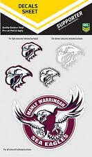 NRL Manly Sea Eagles iTag UV Sticker Sheet