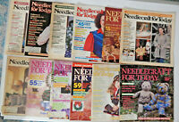 Lot of 12 Needlecraft For Today Magazines
