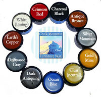 """Chalk Painting Wax 4 oz wax """"All Natural Wax"""". Choose a color from our 11 colors"""