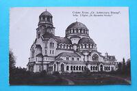 Bulgarien AK Sofia 1910-20 Kirche Alexander Nevsky Architektur Gebäude Kunst +++