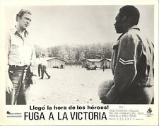Pelé And Michael Caine in Victory 1981 vintage movie photo 9066