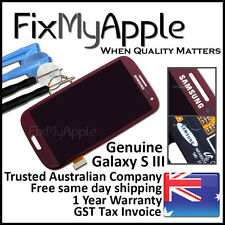 Samsung Galaxy S III S3 i9300 Red LCD Touch Screen Digitizer Display Assembly