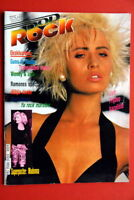 TRANSVISION VAMP ON COVER 1989 RARE EXYU MAGAZINE