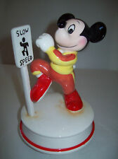 Vintage Disney Characters Mickey Mouse Jogging Music Box Chariots of Fire
