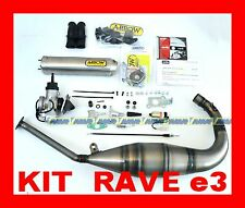KIT VALVOLA RAVE APRILIA RS 125 E3 dal 2007 al 2011 + ARROW TITANIO + VHSB34