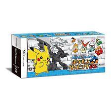 Pokemon Typing Battle & Get WHITE Bluetooth Keyboard Nintendo DS Japan NEW
