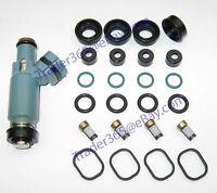 Denso Top Feed Fuel Injector Seal O-Ring Repair Kit for Subaru Mazda Mitsubishi