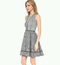 Yigal Azrouel New York Circle Mesh Tape Dress 100% Authentic Guaranteed
