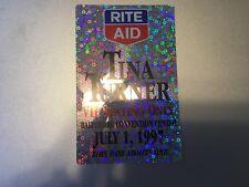 Tina Turner - 1997 - VIP Seating Pass - Silver