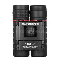 Mini 10X22 Zoom High Powered Binoculars Telescope Outdoor Travel Hunting US X7V7