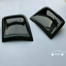 Carbon Fiber Front Bumper Side Vents For Subaru Impreza GRB Wagon WRX STi 08-14