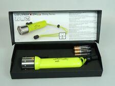 LED LENSER  D14 9114-W Daylight Tauchlampe Neon Zweibrüder 300 Lumen 200 m