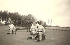 WWII Org German Army RP- Artillery Shell- Gun Crew- Cannon- Helmet- Gun Drills