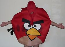 Angry Birds Halloween Costume Adult One Size Fits Most PMG Red Bird Rovio 2012