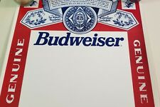 6 Vintage Budweiser Blank Empty Event Poster Beer 1994 Anheuser Busch 26 x 20
