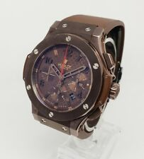 Hublot Big Bang Chocolate PVD Cronógrafo 44mm Hombre Reloj 301.SL.1008.RX
