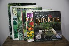 Gardening Books - Lot of 6 Plant Combinations Water Gardens Tropical Groundcover