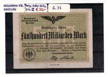 Reichsbahndirektion Breslau, Fünfhundert Milliarden Mark, Keller 603g.