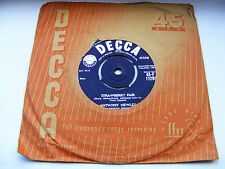 """Anthony  Newley  Strawberry  Fair  /  A  Boy  Without  A  Girl 7""""  Vinyl  Single"""